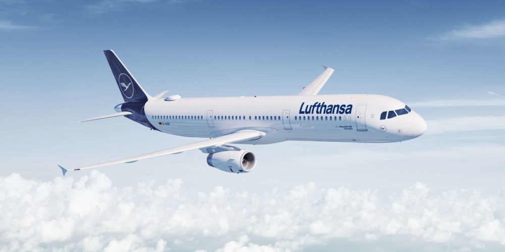 Airplane Lufthansa - a strong travel brand