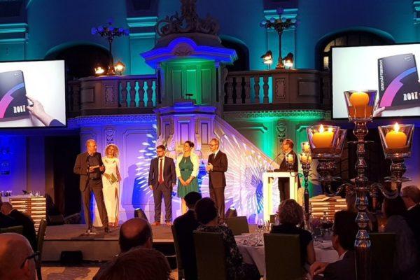 Auf der Bühne der Econ-Awards