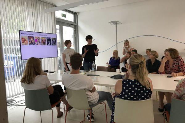 Meeting bei Territory in Hamburg