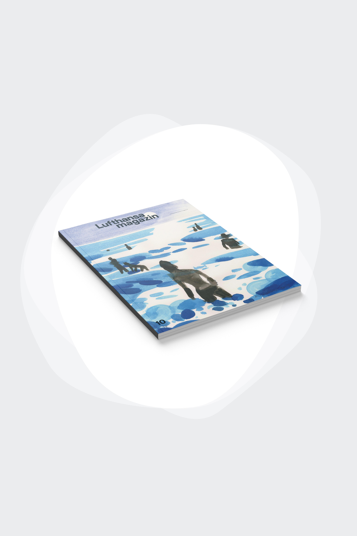 Fünf künstlerische Titel für die Jubiläumsausgabe des Lufthansa-Magazin