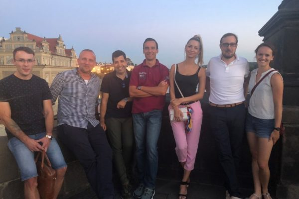 Das Territory-Influence Team in Prag