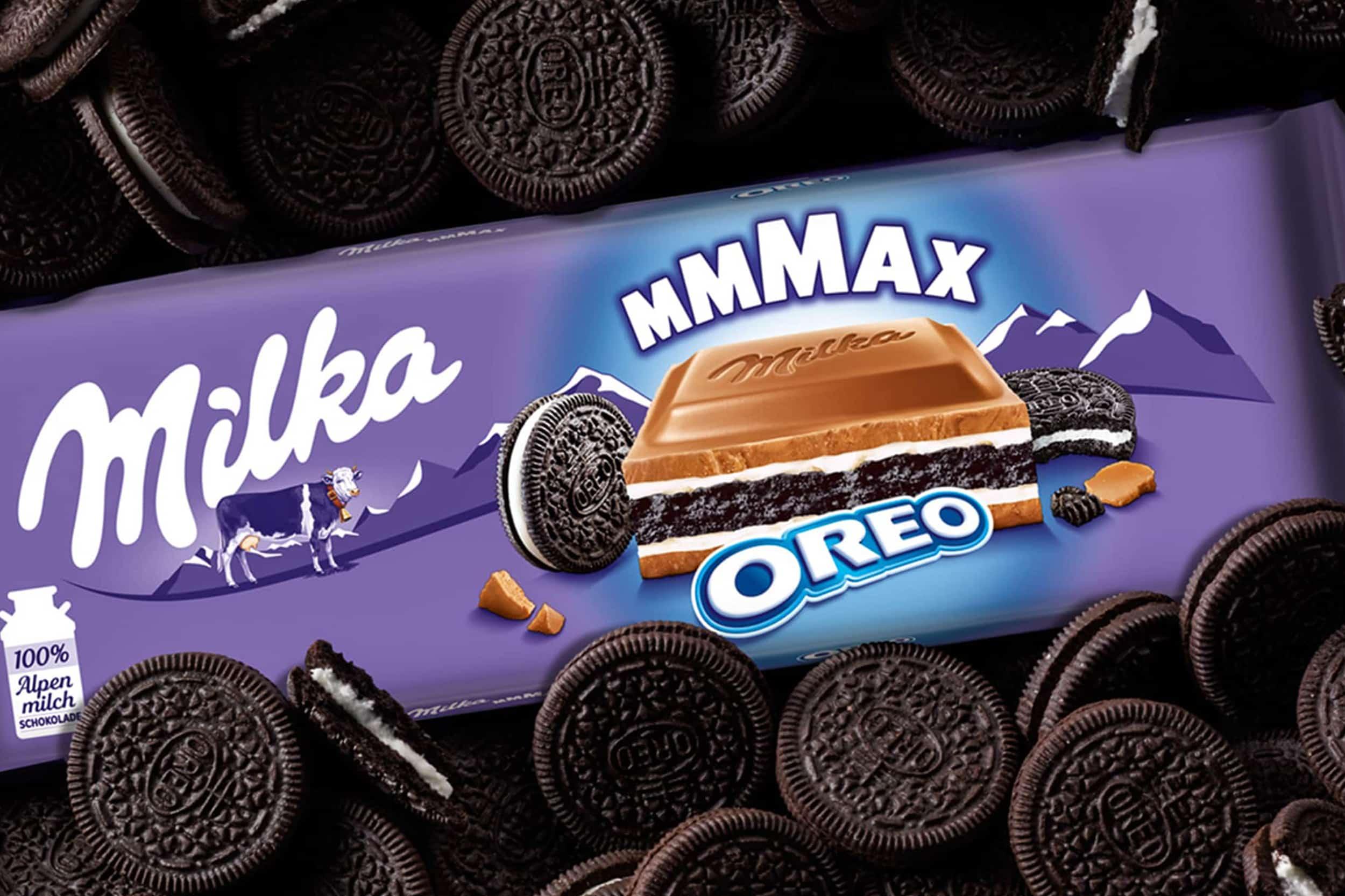 Case Milka Max Oreo
