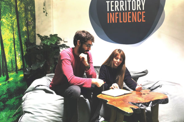 Territory Influence: Lounge in Barcelona