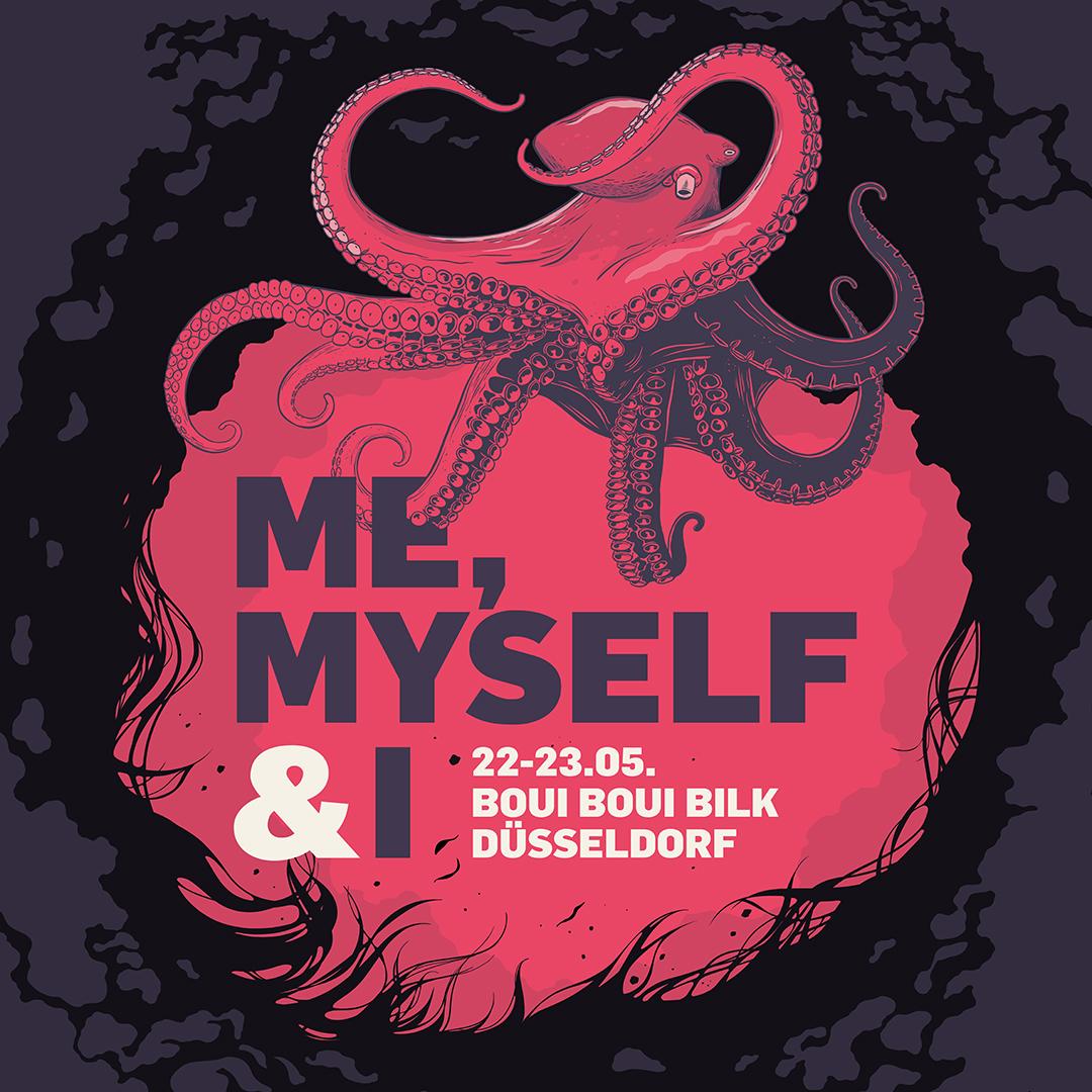 "Logo ""Me, myself & I"": HR-Festival #RC19 am 22. und 23. MAI in Düsseldorf"