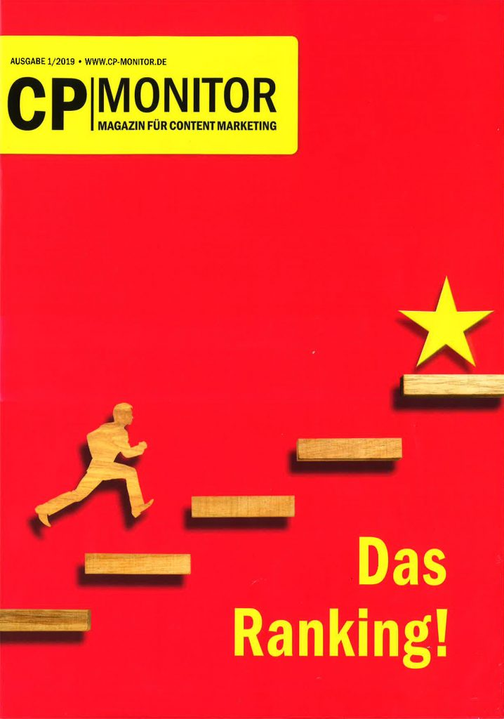 CP-Monitor - Magazin für Content Marketing: Das Ranking!