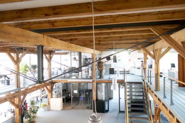Open-plan office in Gütersloh