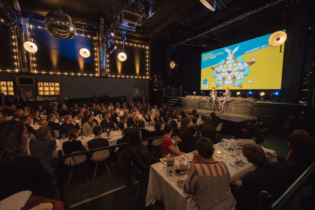 ConCom-Night 2019: Die Atmosphäre beim Interview von Thomas Ammann und Toni Piëch