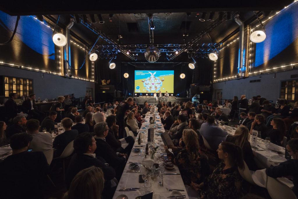 Gefüllte Halle auf der ConCom-Night 2019