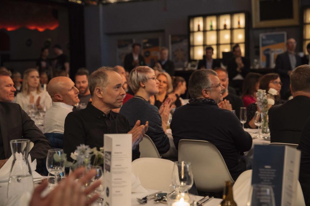 Klatschendes Publikum bei der ConCom-Night 2019