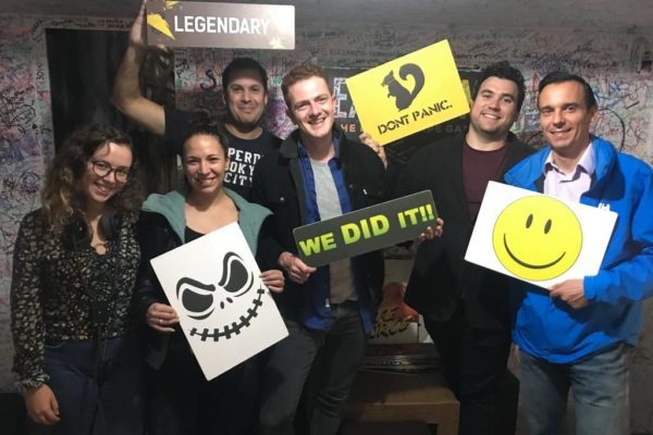 Team-event in an escape room