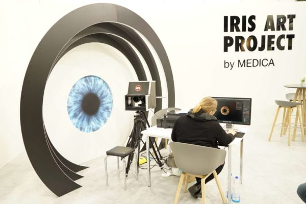 Medica: Iris art project