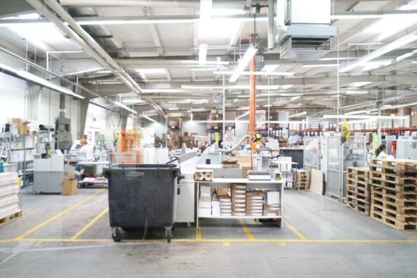 Printing hall