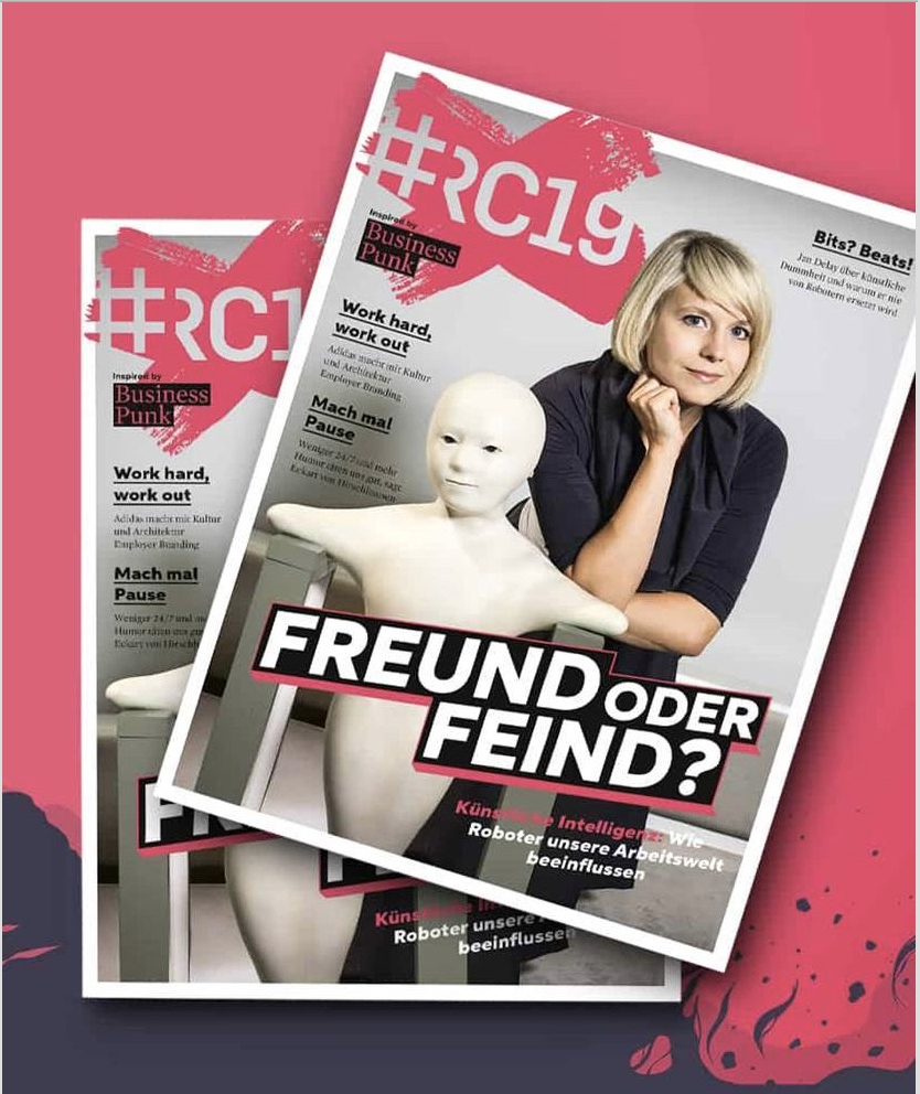 #RC19 Magazin erscheint mit Dossier zu KI und Mittelstandsstudie zu Arbeitgeberkommunikation