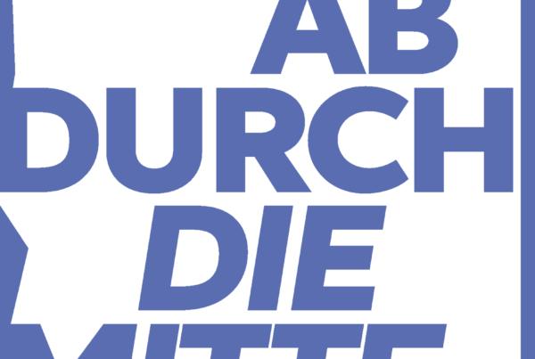 Logo: Ab durch die Mitte