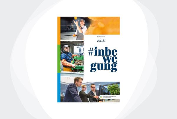 Cover #inbewegung