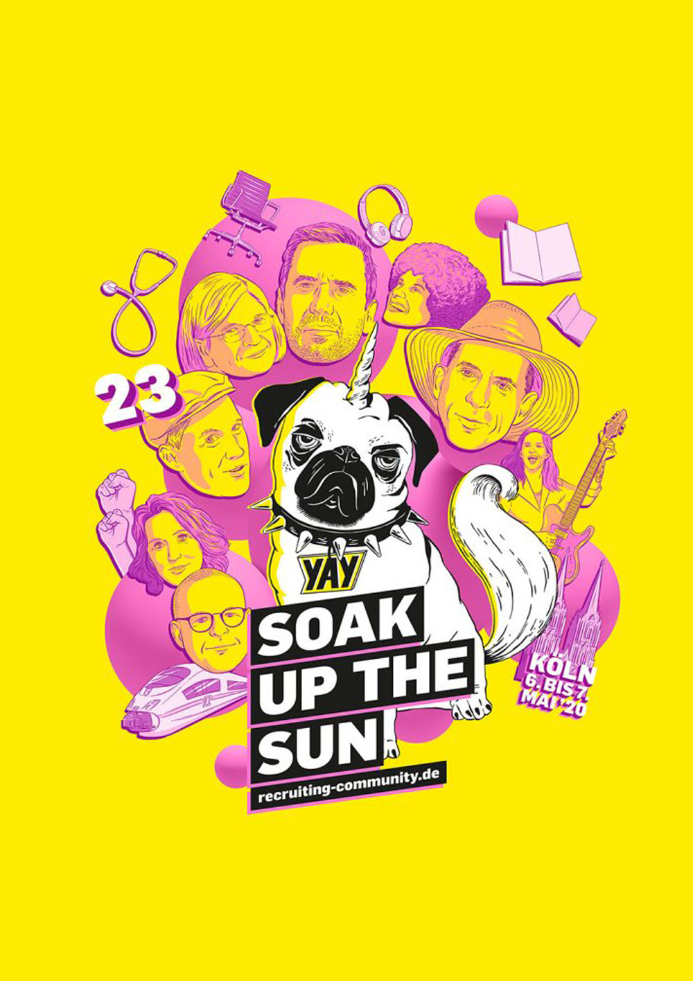 Soak up the sun: Das #RC20-Festival in Köln