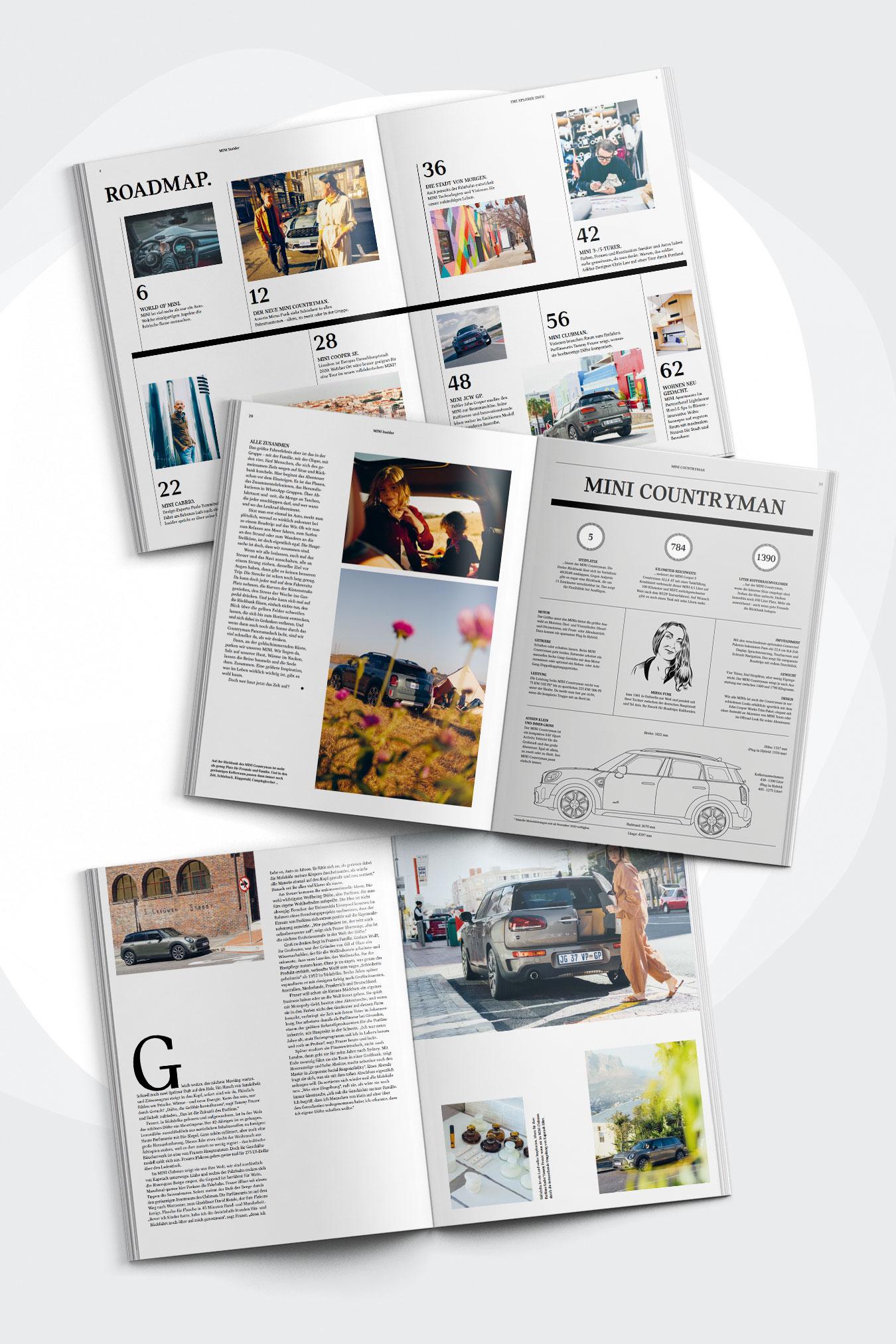 TERRITORY launcht neues Printmagazin für MINI