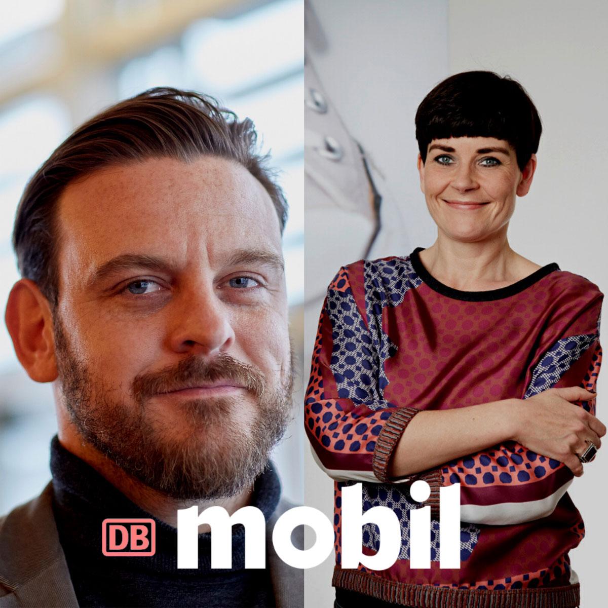 Neue Doppelspitze bei DB MOBIL – Nina Grygoriew und Adrian Pickshaus übernehmen die Chefredaktion