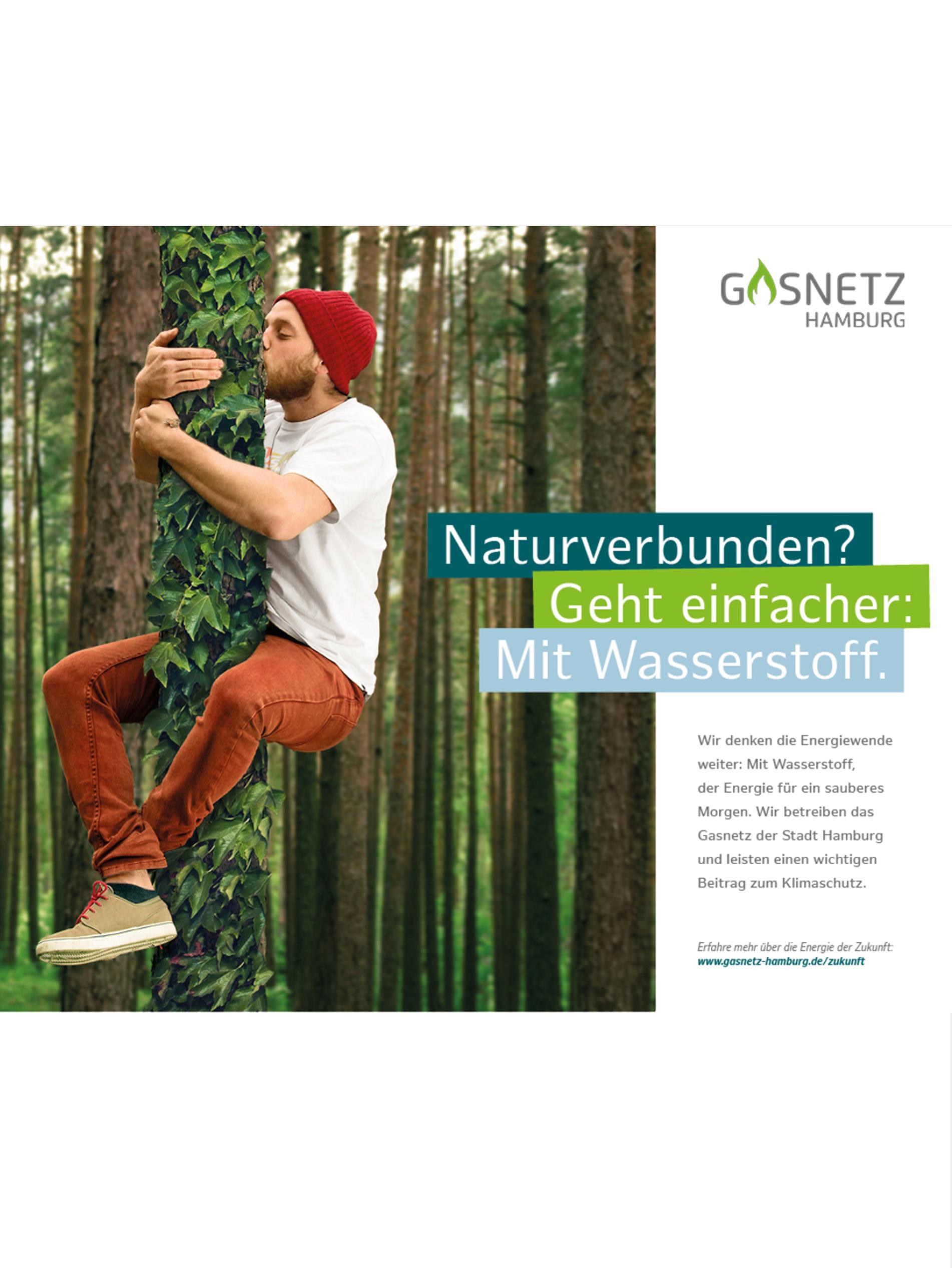 Gasnetz Hamburg blickt auf die Chancen von Wasserstoff: Kampagne mit TERRITORY